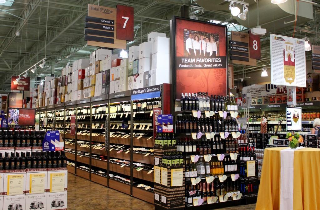 Total Wine Cedar Park Selection