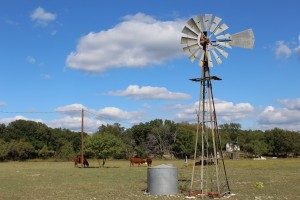 Texas Windmill at Balcones Canyonlands Wildlife Refuge