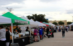 Farmers Market at Lakeline Mall in Cedar Park every Saturday.