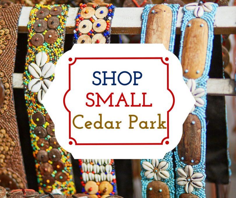 Shop Small Cedar Park November 25, 2017