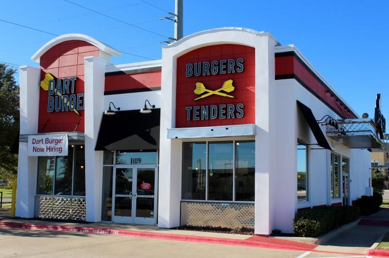 Dart Burger Is A New Fast Food Restaurant In Cedar Park Texas