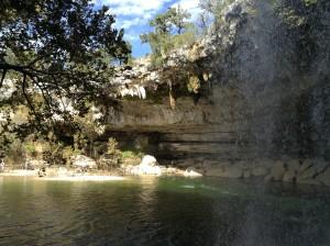 Day Trip from Cedar Park to Hamilton Pool Preserve.