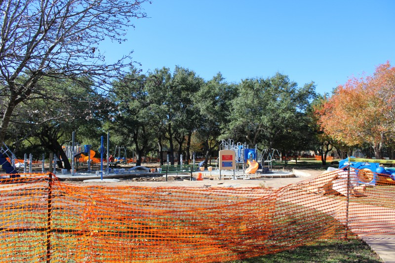 Park renovation at Anderson Mill West Park