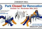 Park renovations Cedar park
