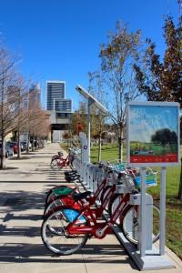 Downtown Austin B Cycle Rental