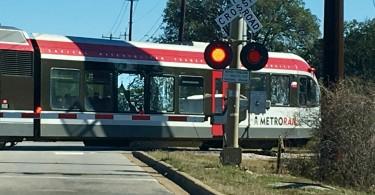 Austin Metro Rail from Downtown Austin to Cedar Park.