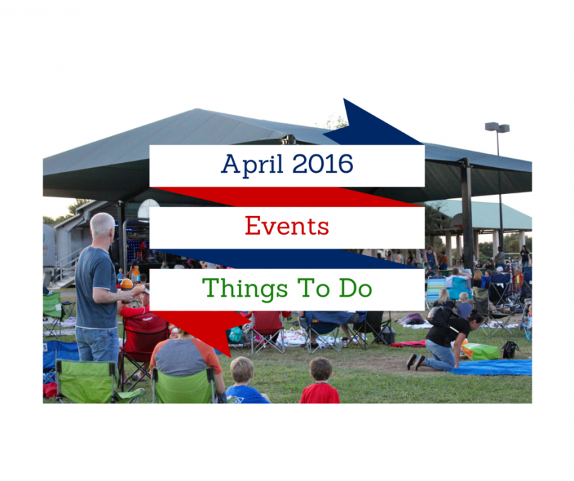 April 2016 events things to do