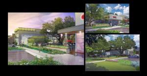 The Presidio Cedar Park Retail, Restaurants and Office Space.