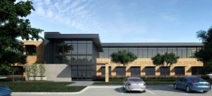 Renderings of Office Buildings at The Presidio Cedar Park