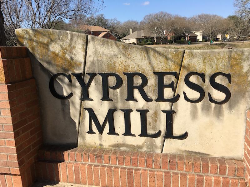 Cypress Mill Cedar Park