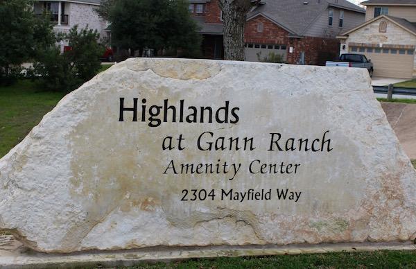 Gann Ranch Cedar Park Texas