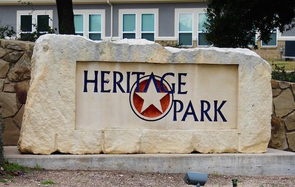 Heritage Park Cedar Park Texas