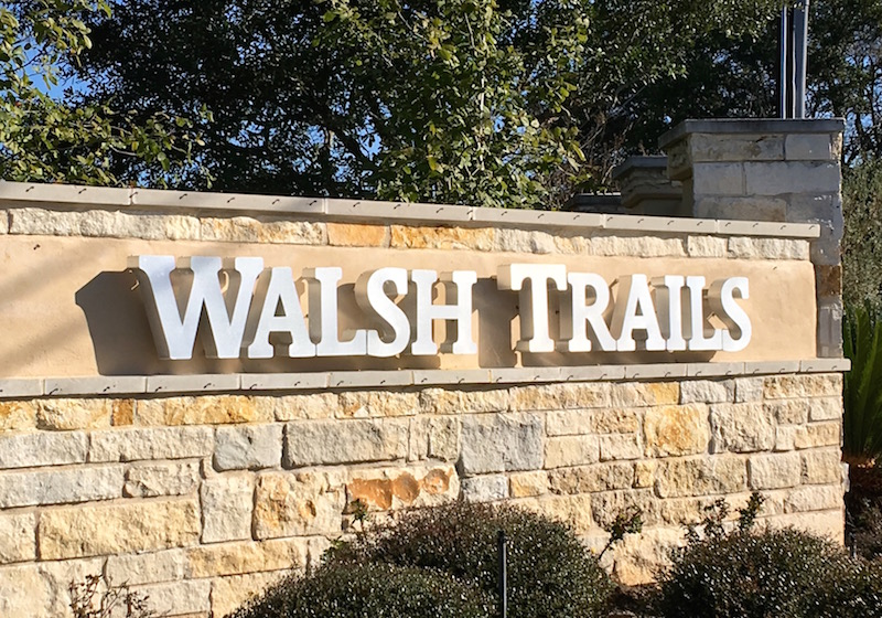 Walsh Trails Cedar Park Texas