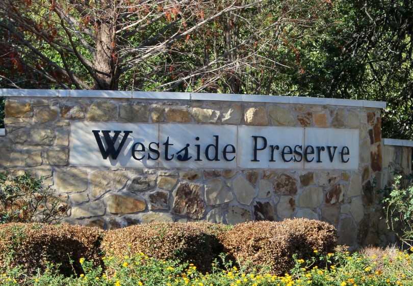 Westside Preserve and Westside at Buttercup Creek in Cedar Park, Texas.