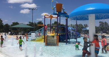 Cedar Park Splash Pad and Pool at Veteran's Memorial