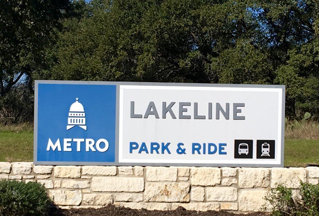 Lakeline Metro Station