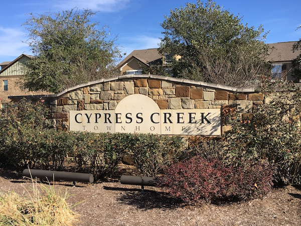 Cypress Creek Townhomes Cedar Park