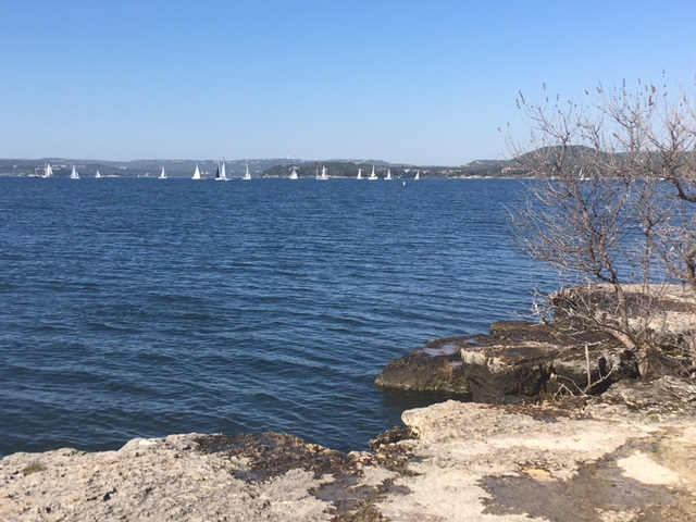 Bob Wentz Park on Lake Travis