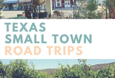 Texas Small Town Road Trips