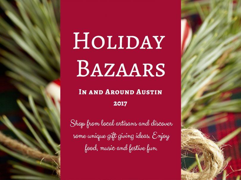 Holiday Bazaars 2017