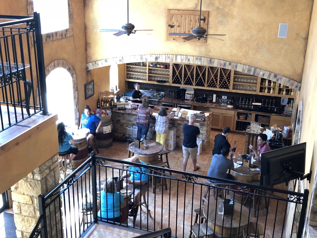 Flat Creek Winery Tasting Room