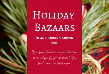 Holiday Bazaars Events 2018 Austin TX