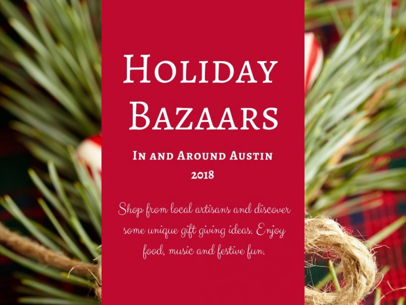 Holiday Bazaars Events 2018 Austin TX