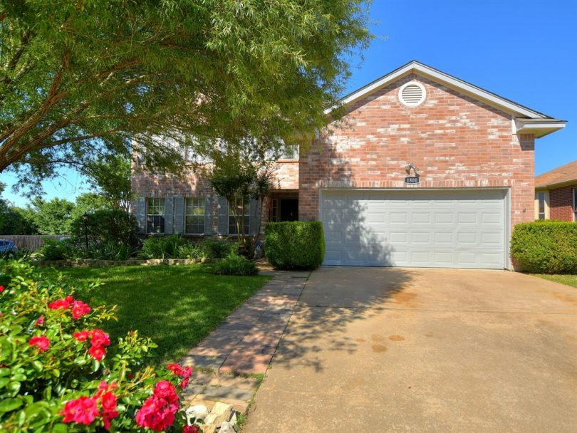 1800 Iris Lane 4 bedroom home for sale in Cedar Park