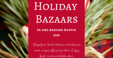 Holiday Bazaars 2019