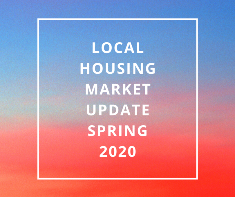 Local Housing Market Update Spring 2020