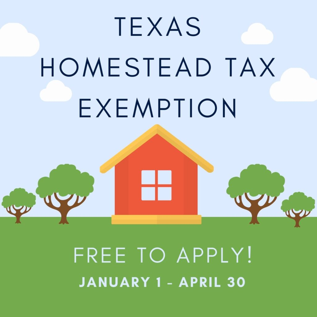 How to file Texas disabled veteran and homestead tax exemption located in Travis county and Williamson County, Austin Cedar Park and Leander.