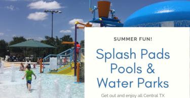 Splash Pads Pools Waterparks in Cedar Park Area